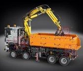 Mould King  Vrachtwagen-Truck Container Bakwagen Kraan Technic Radiografisch Afstandbestuurbaar - 2819 bouwstenen