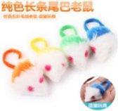Katten speeltje muisje in verschillende kleuren