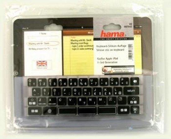   Hama silicone toetsenbord voor iPad, Qwerty
