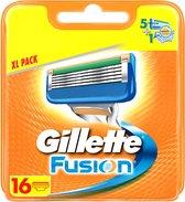 Gillette Fusion - 16 Stuks - Scheermesjes