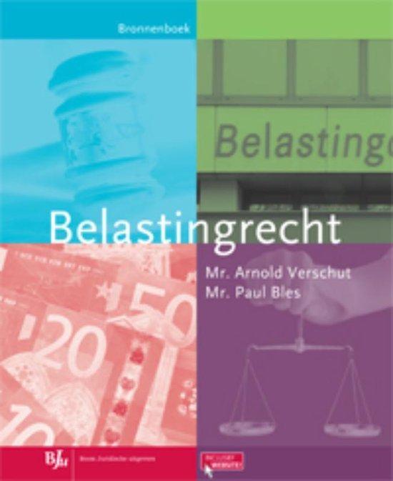 Belastingrecht - A.W. Verschut |