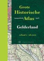 Historische provincie atlassen - Grote Historische topografische Atlas Gelderland