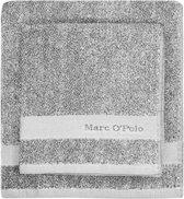 Marc O'Polo Melange  Badhanddoek - 50x100 - Grey/white