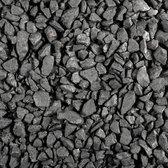 35 stuks! Basalt split zwart 16/32 mm 20 kg Gardenlux