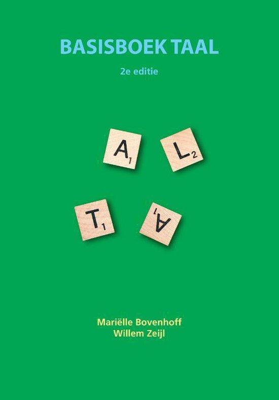 Basisboek taal - Mariëlle Bovenhoff  