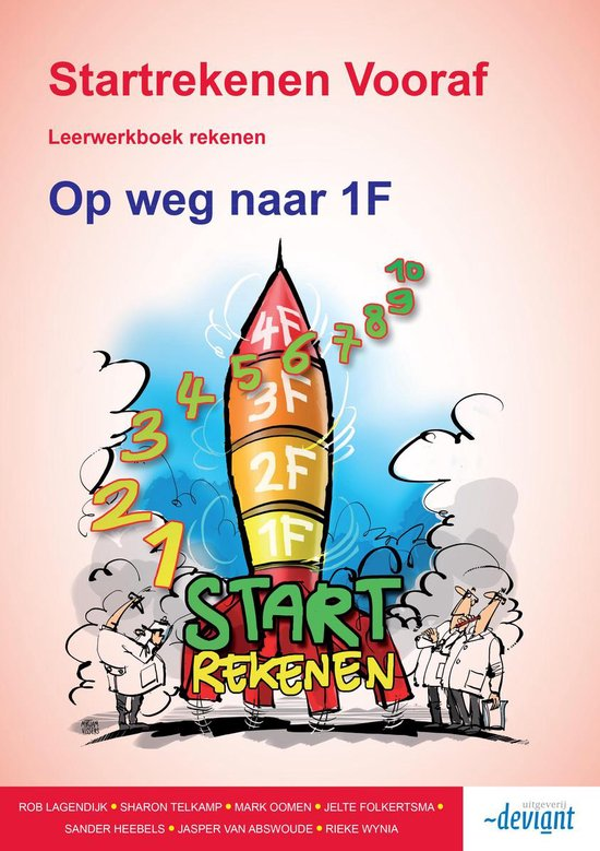 Startrekenen Vooraf - Op weg naar 1F - Leerwerkboek - Rieke Wynia  