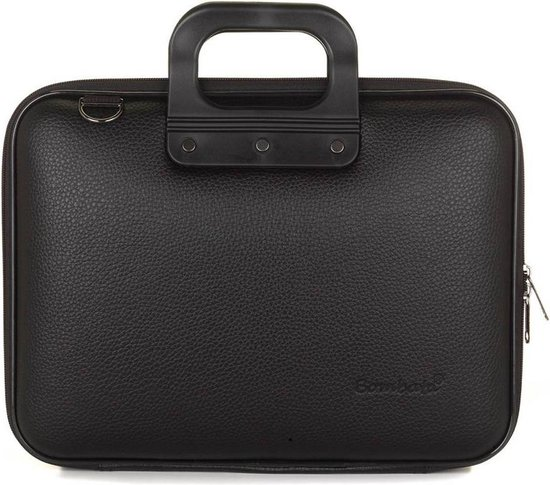 "Bombata MEDIO All Black 13 inch Laptoptas - 13,3"" / Zwart"