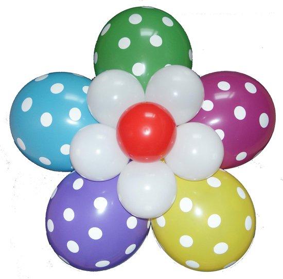 Verrassend bol.com | Ballonnen bloem zelf maken, Polka Dots JK-72