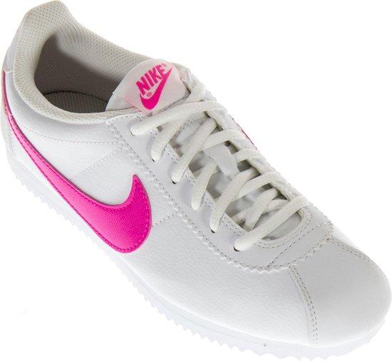Agradecido Viaje Centro comercial  bol.com   Nike Cortez (GS) Sportschoenen - Maat 38 - Unisex - wit/roze
