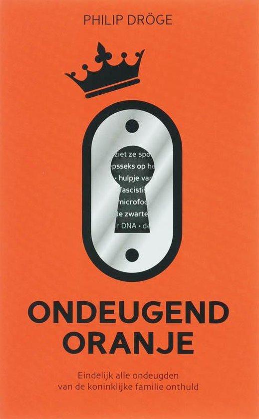 Cover van het boek 'Ondeugend Oranje'