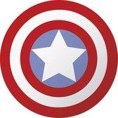 Marvel Avengers Schild - Rond strandlaken - Ø 130 cm - Polyester
