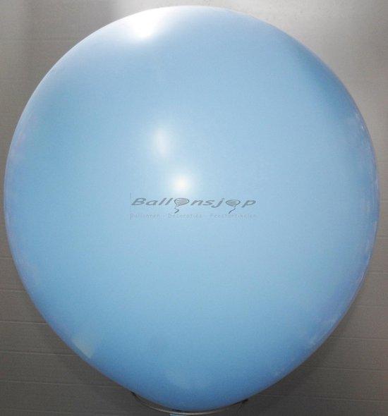 reuze ballon 60 cm  24 inch licht blauw