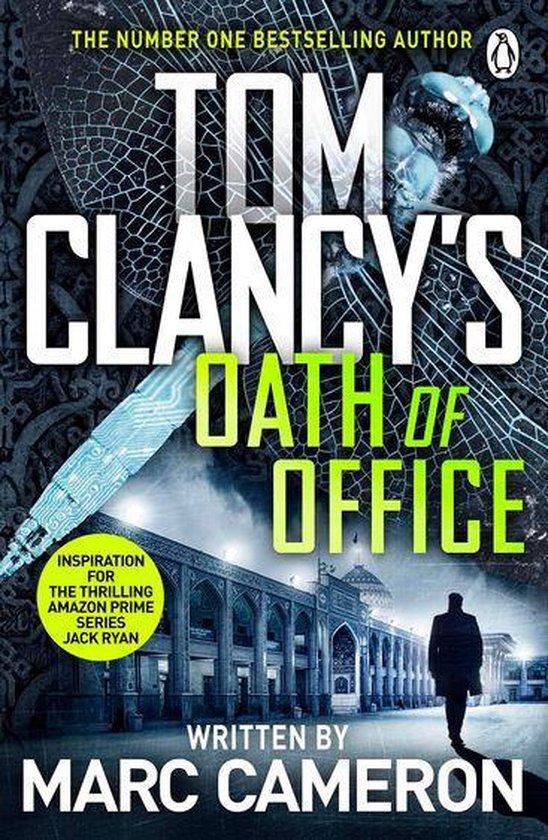 Boek cover Tom Clancys Oath of Office van Marc Cameron (Onbekend)