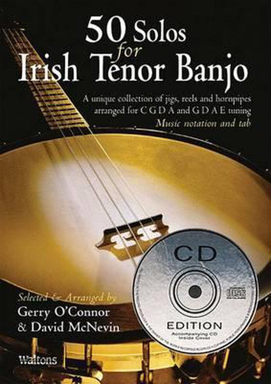 Afbeelding van 50 Solos for Irish Tenor Banjo