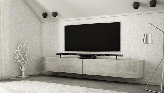Beton Tv Meubel.Bol Com Az Home Tv Meubel Tv Kast Hardy Xl 280 Cm Wit