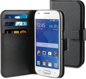 BeHello Wallet Case voor Samsung Galaxy Ace 4 - Zwart