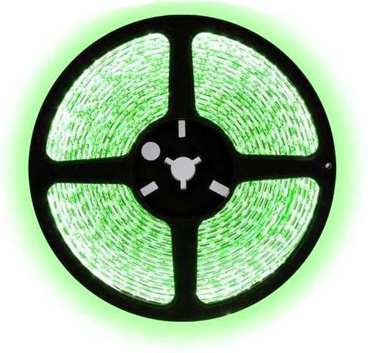 1 meter groen led strip - 30Leds/m - 12V