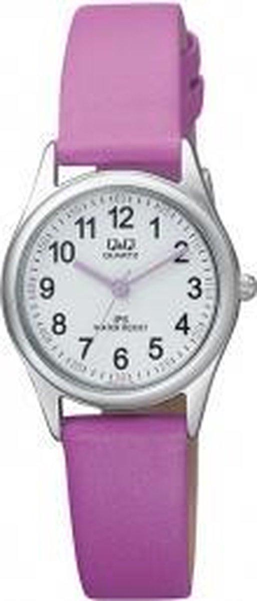 Q&Q horloge voor kinderen -paars -QZ09J354Y - Q&Q by Citizen