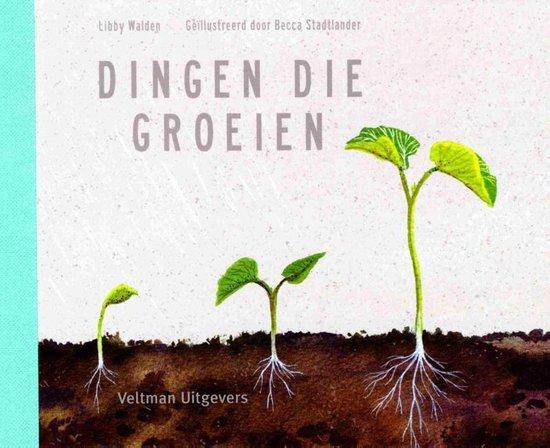 Boek cover Dingen die groeien van Libby Walden (Hardcover)