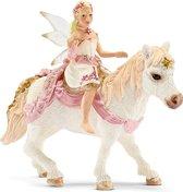 Schleich Lelie-elf op pony 70501 - Speelfiguur - Bayala - 15,6 x 18 x 8,5 cm