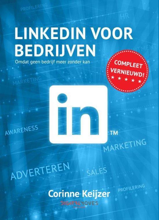Boek cover LinkedIn voor bedrijven van Corinne Keijzer (Paperback)