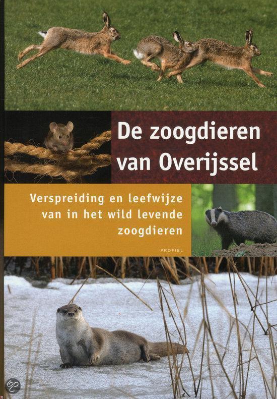 Boek cover De Zoogdieren Van Overijssel van Theo Douma (Hardcover)