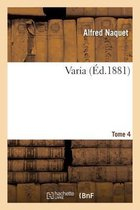 Varia Tome 04