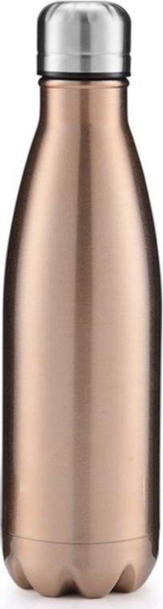 Givii Bottle Thermosfles 500 ML Goud Waterfles - Givii Bottle
