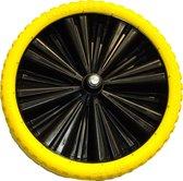 Altrad Fort kruiwagenwiel zwart/geel 400 x 100 mm