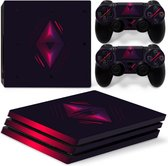 Minuit Diamond - PS4 Pro Console Skins PlayStation Stickers