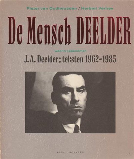 De mensch deelder - Herbert Verhey |