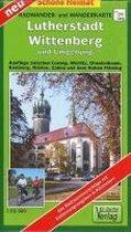Lutherstadt Wittenberg und Umgebung. Radwander- und Wanderkarte 1 : 50 000