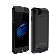 Zwart smart batterij hoesje / battery case met stand functie voor Apple iPhone 6 / 6s en Apple iPhone 7