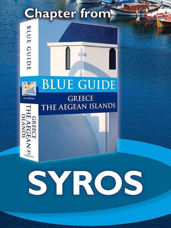 Boek cover Syros - Blue Guide Chapter van Nigel Mcgilchrist (Onbekend)