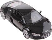 Welly Schaalmodel Audi R8 Zwart
