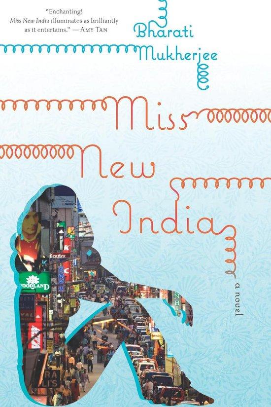 Boek cover Miss New India van Bharati Mukherjee (Onbekend)
