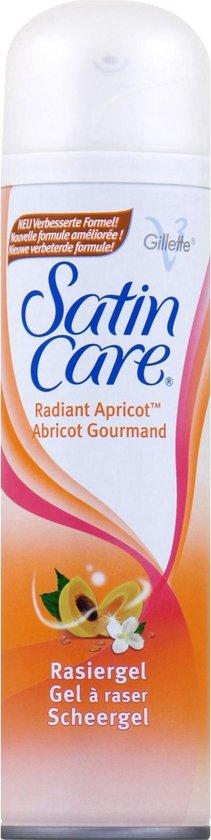 Gillette Venus Satin Care Radiant Abricot - Voordeelverpakking 6x200ml - Scheergel - Gillette Venus