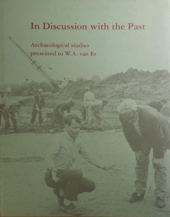 Boek cover In discussion with the past van  (Hardcover)