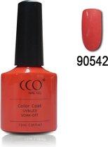 CCO Shellac-Desert Flower 90542-Lichtoranje Coraal-Gel Nagellak