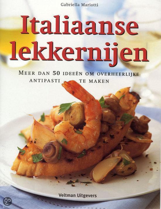 Cover van het boek 'Italiaanse lekkernijen'