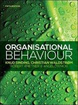 Boek cover Organisational Behaviour van Knud Sinding