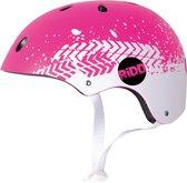 RiDD - Skull - Helmet - Helm - Valhelm - Skateboard - Skate - Skeelers - Roze