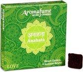 Aromafume Chakra Wierookblokjes: Anahata - hart chakra