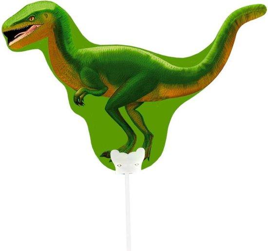 Mini figuurballon Dinosaurus Raptor