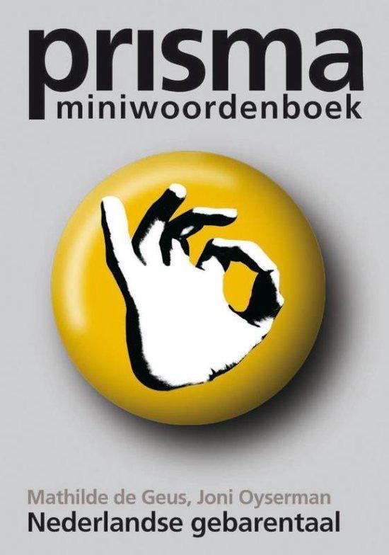 Prisma miniwoordenboek Nederlandse gebarentaal - M. de Geus |