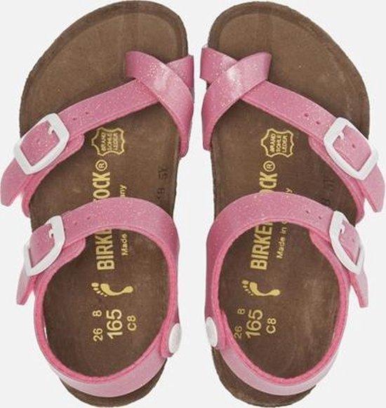 Birkenstock Taormina Slippers Kinderen Roze Maat 26