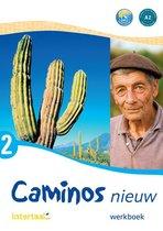 Caminos nieuw 2 werkboek + audio-cd (1x)
