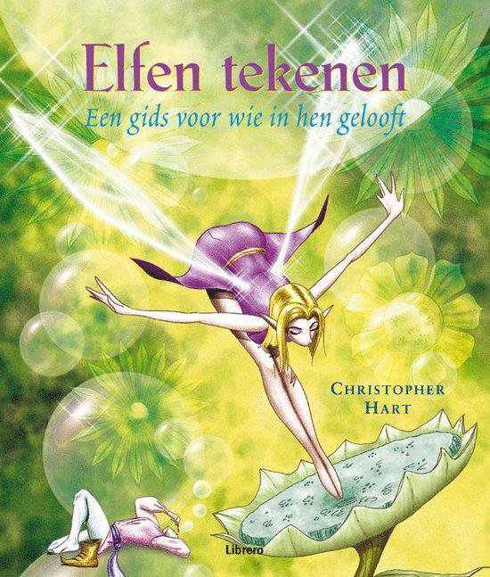 Cover van het boek 'Elfen tekenen'