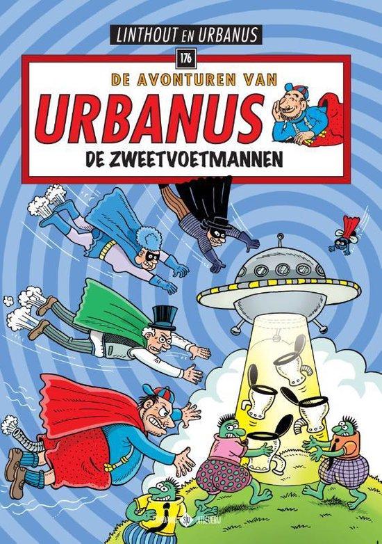 Urbanus 176 - De zweetvoetmannen - Willy Linthout  