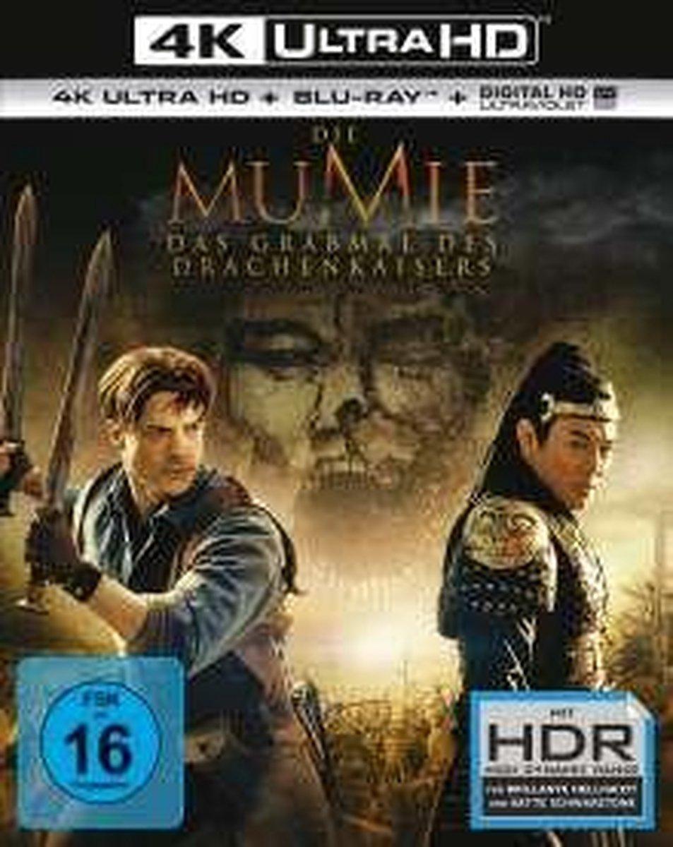 The Mummy: Tomb of the Dragon Emperor (2008) (Ultra HD Blu-ray & Blu-ray)-